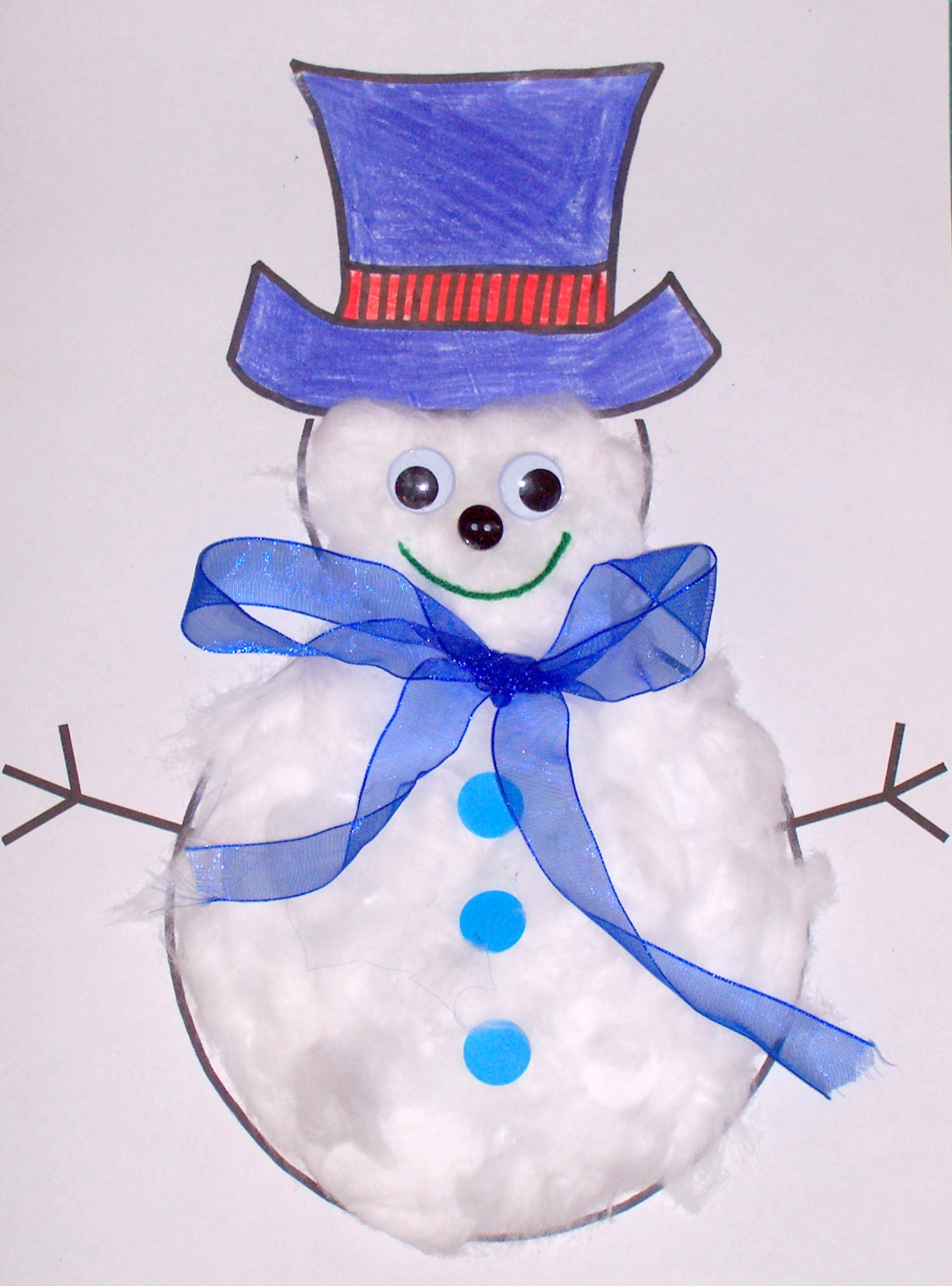 15 fun and easy christmas craft ideas for kids miss lassy - Manualidades ninos navidad ...