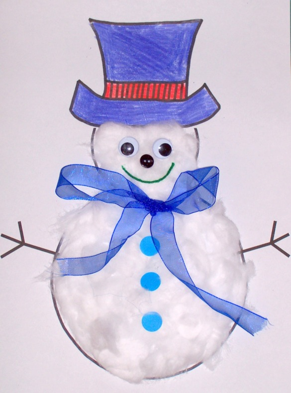 snowman-christmas-craft